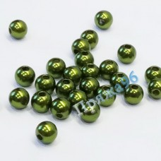 Бусины оливковые, 8 мм