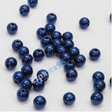 Бусины темно-синий 1, 6 мм