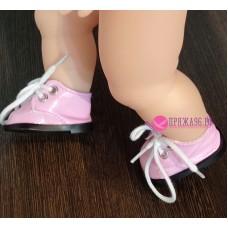 Ботинки для куклы, цвет светло-розовый, 5х2,8 см