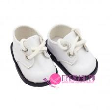 Ботинки для куклы, цвет белый, 5х2,8 см