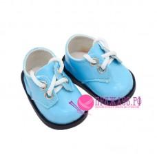 Ботинки для куклы, цвет голубой, 5х2,8 см