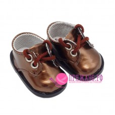 Ботинки для куклы, цвет коричневый, 5х2,8 см