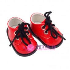 Ботинки для куклы, цвет красный, 5х2,8 см