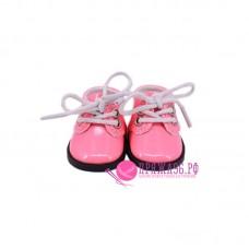 Ботинки для куклы, цвет розовый, 5х2,8 см
