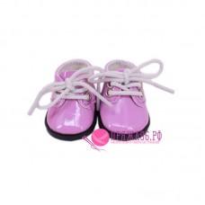 Ботинки для куклы, цвет сиреневый, 5х2,8 см