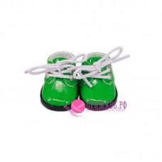 Ботинки для куклы, цвет зеленый, 5х2,8 см