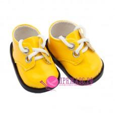 Ботинки для куклы, цвет желтый, 5х2,8 см