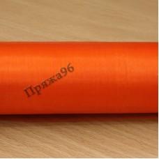 Органза-снег, цвет - оранжевый