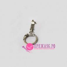 Кольцо для брелка, цвет никель