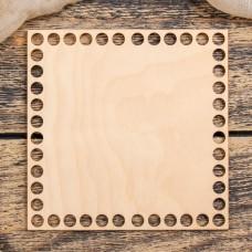 Квадрат 10х10 см, фанера 3 мм - Донышко для корзинки