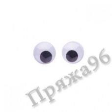 Глазки для игрушек круглые, d = 6 мм
