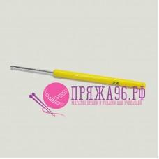 Крючок с пластиковой желтой ручкой 2,5 мм