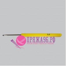 Крючок с пластиковой желтой ручкой 3,5 мм