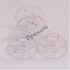 Пластиковые прозрачные шпульки