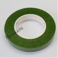 Флористическая лента оливковая 12 мм