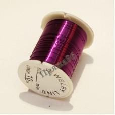 Проволока для бисероплетения 0,3 мм, цвет фиолетовый, 10 м