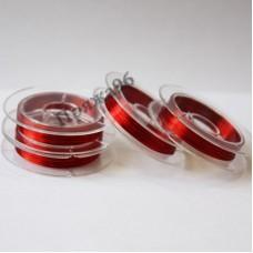 Проволока медная цветная 0,3 мм, цвет красный, 10 м
