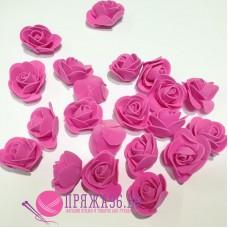 Роза малиновая из фоамирана