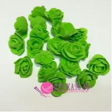 Роза салатовая из фоамирана