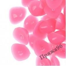 Носики для игрушек 11х10 мм розовые, клеевые