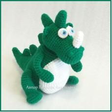 Вязаная игрушка Динозаврик Мирон