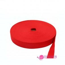 Лента окантовочная, цвет красный, 33 мм