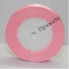Атласная лента, 12 мм, №1410 розовый