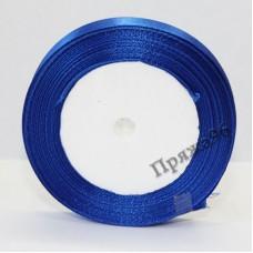 Атласная лента, 12 мм, №146 синий