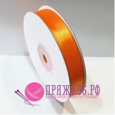 Атласная лента, 12 мм, №8020 оранжевый