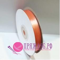 Атласная лента, 12 мм, №8028 персик