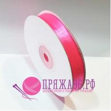 Атласная лента, 12 мм, №8040 розовый неон
