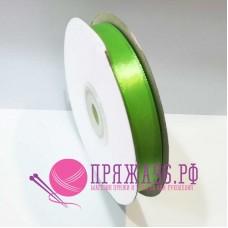 Атласная лента, 12 мм, №8074 светло-зеленый