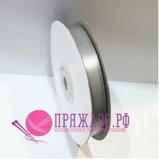 Атласная лента, 12 мм, №8139 серый
