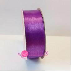 Атласная лента, 25 мм, №084, цвет фиолетовый