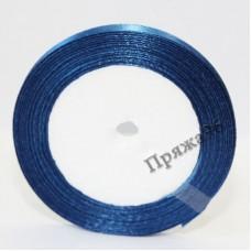 Атласная лента, 6 мм, №03 синий