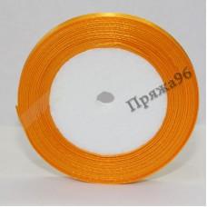 Атласная лента, 6 мм, №07 желто-оранжевый