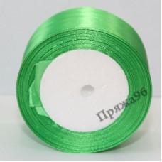 Атласная лента, 50 мм, цвет №44 светло-зеленый