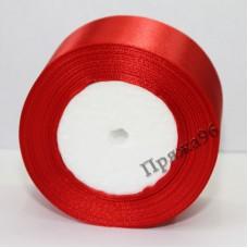 Атласная лента, 50 мм, цвет №57 красный