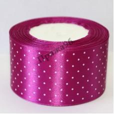 Лента горох, цвет лиловый, 50 мм