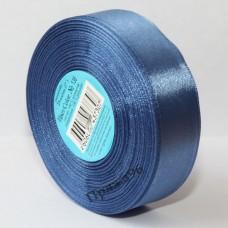 Атласная лента, 25 мм, цвет №136 светло-синий