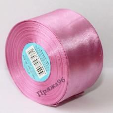 Атласная лента, 50 мм, цвет №029 грязно-малиновый
