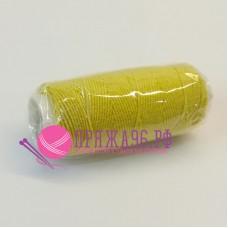 Нитка-резинка (спандекс в оплетке), 25 м, цвет ярко-желтый