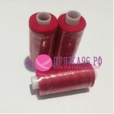 Нитки Bestex 40/2 400 ярд. (100% полиэстер), цвет 051 красный