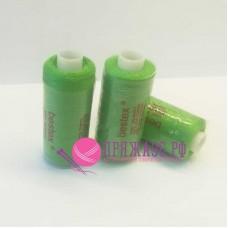 Нитки Bestex 40/2 400 ярд. (100% полиэстер), цвет 131 люминисцентный зеленый