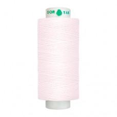 Нитки Dor Tak. Цвет - 126 светло-розовый. 40/2 400 ярд. (100% полиэстер)