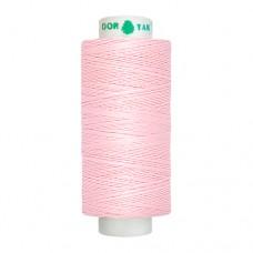 Нитки Dor Tak. Цвет - 131 светло-розовый. 40/2 400 ярд. (100% полиэстер)