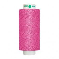 Нитки Dor Tak. Цвет - 132 темно-розовый. 40/2 400 ярд. (100% полиэстер)