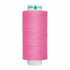 Нитки Dor Tak. Цвет - 133 темно-розовый. 40/2 400 ярд. (100% полиэстер)