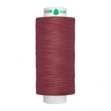 Нитки Dor Tak. Цвет - 145 бордовый. 40/2 400 ярд. (100% полиэстер)