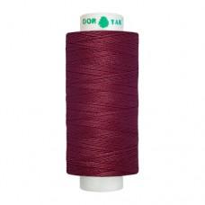 Нитки Dor Tak. Цвет - 147 бордовый. 40/2 400 ярд. (100% полиэстер)